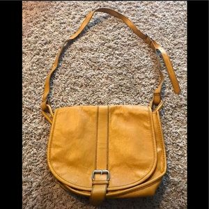 H&M crossbody in mustard yellow!